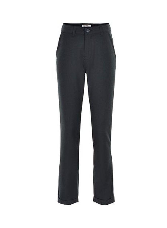 Chris Chino cropped pants black iris