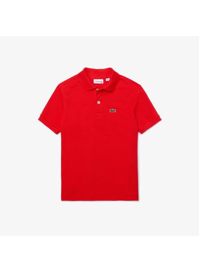 1EP1 Children S/S best polo 01 Redcurrant Bush