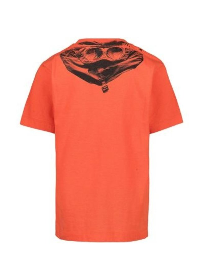 T-shirt short sleeve spicy orange 20628