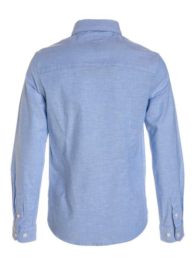 Solid Oxford Shirt Olympian Blue