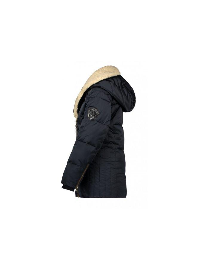 Flo girls biker jacket Navy