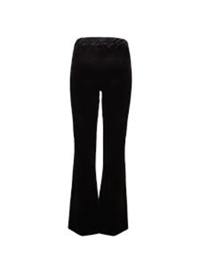 Cozy Flared Pants Black