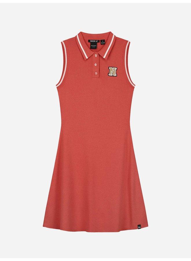 Ashley Dress Retro Pink