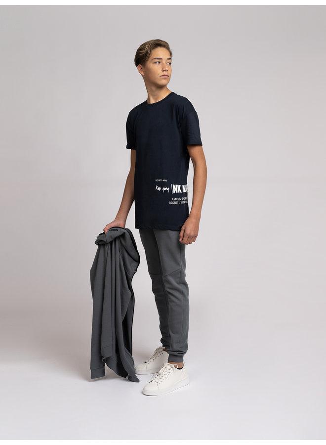 Keep Going T-Shirt Faded Dark Blue