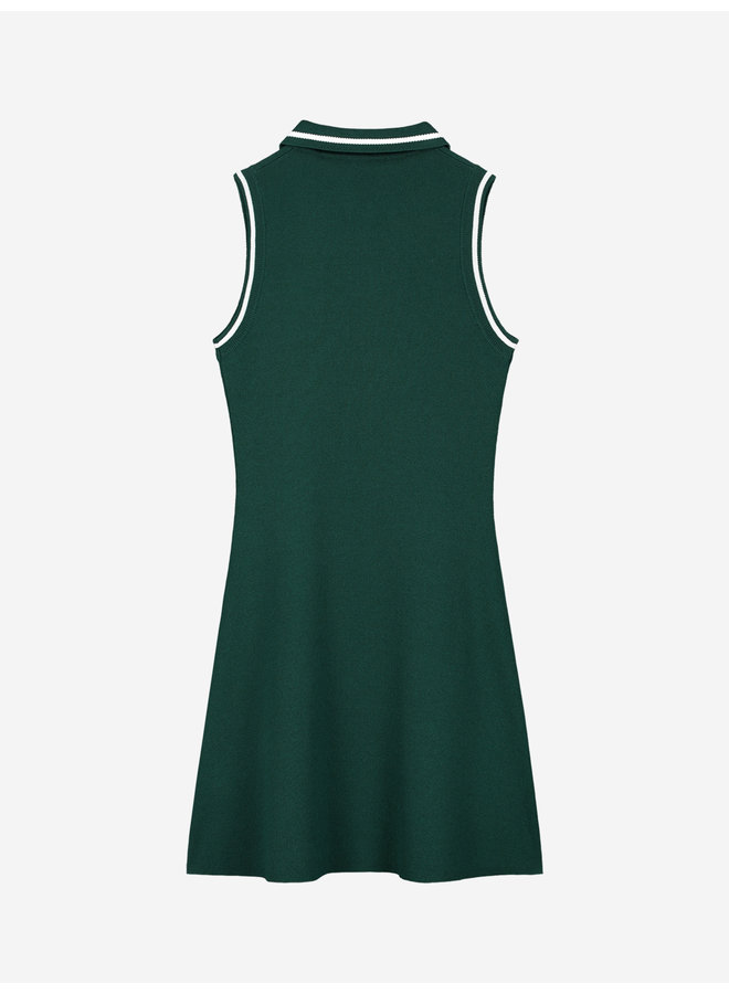 Ashley Dress Deep Water Green