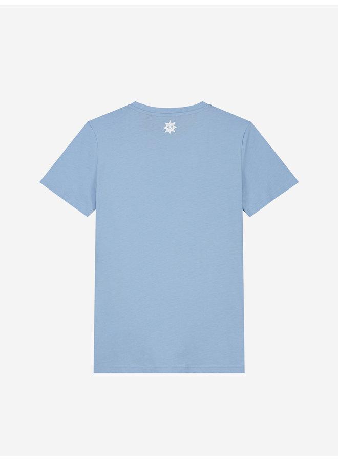 Kim N T-Shirt Water Blue