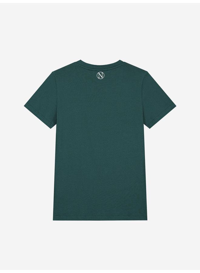 Slow T-Shirt Deep Water Green