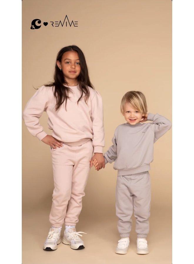 Kids Joggingset Girl &C roze Take it Slow