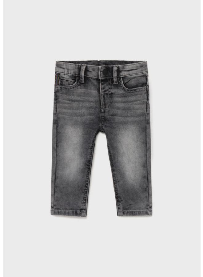 Mayoral Soft denim pants Gray