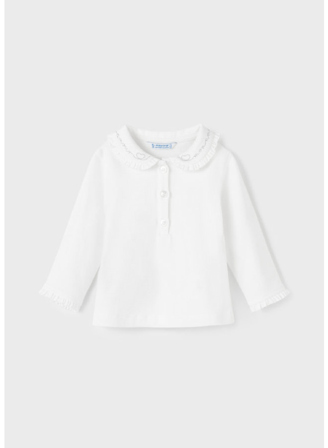 Mayoral L/s basic polo Natural