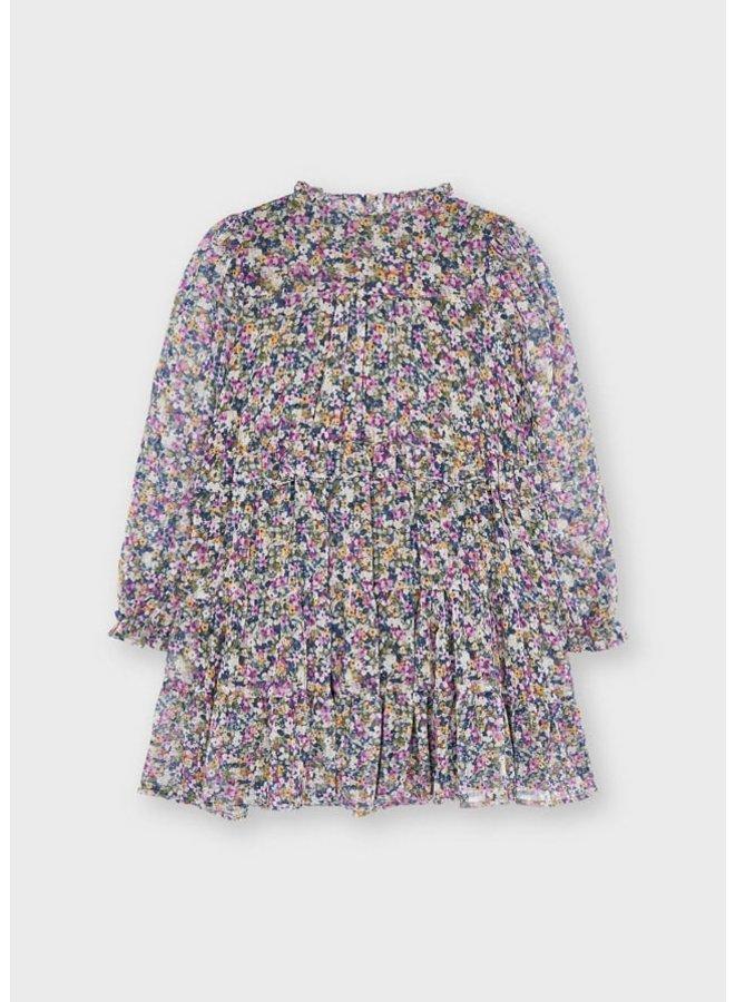 Mayoral Printed dress Lilac