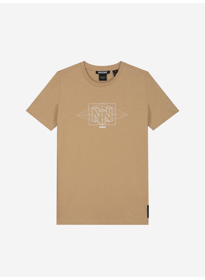 Wesley T-Shirt - Clay Beige