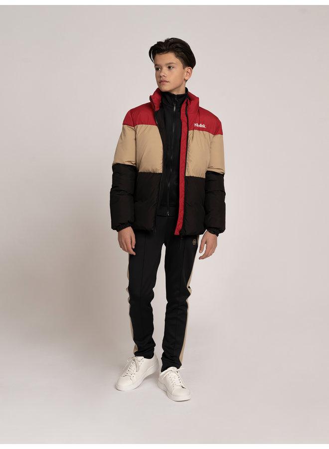 Ryder Puffer Jacket - Vintage Red