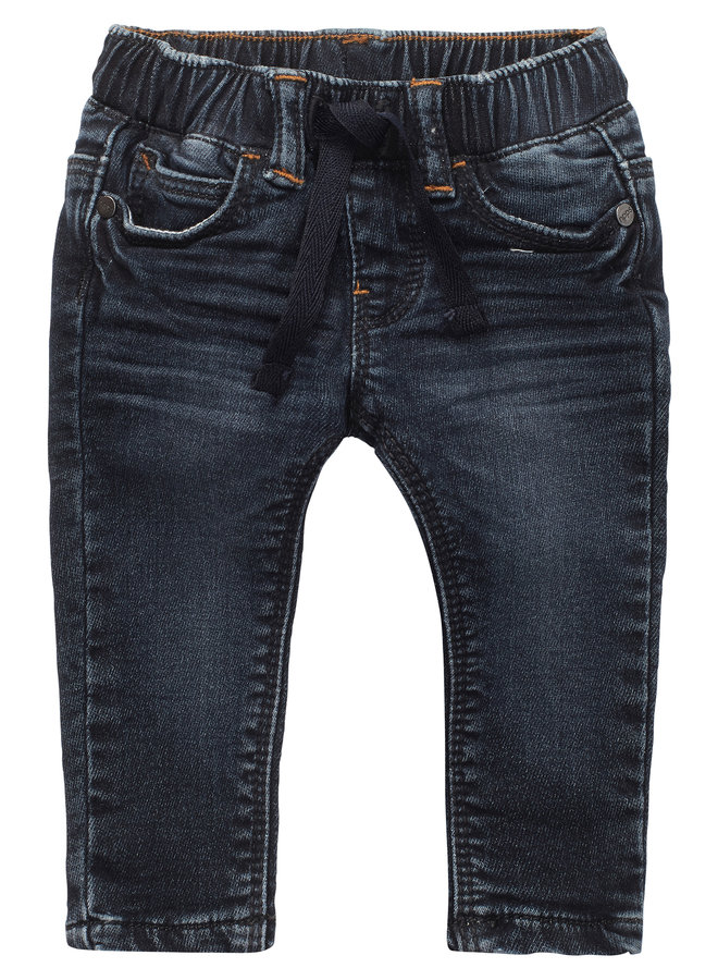 B Regular fit Pants Denim Rhode Island - Dark Blue