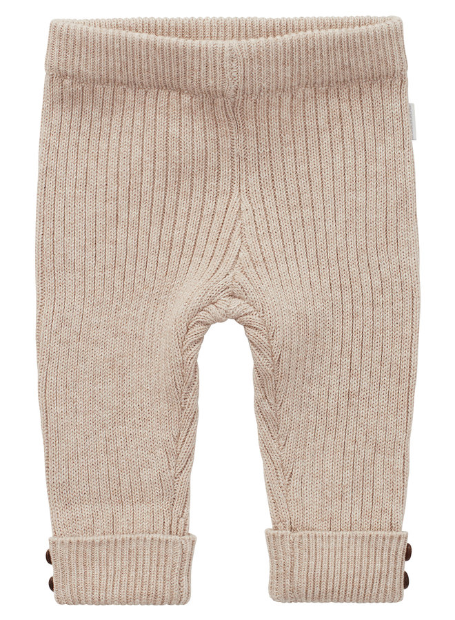 U Slim fit Pants Ratan - Sand Melange
