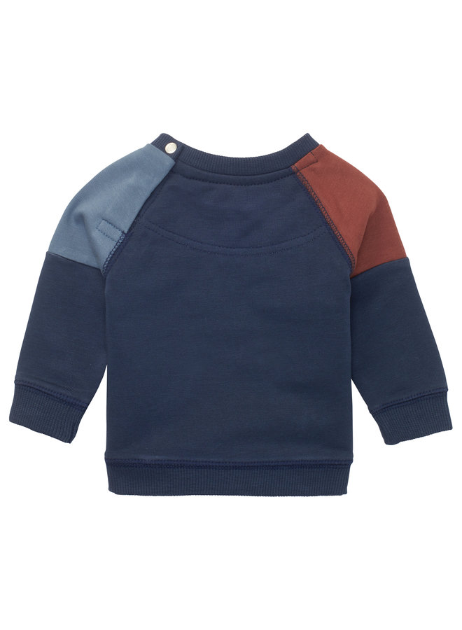 B Sweater LS Ryazan - Black Iris