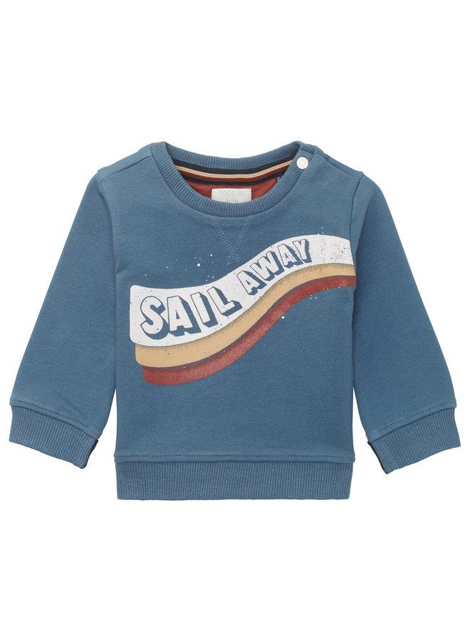 B Sweater LS Rouen - Bering Sea
