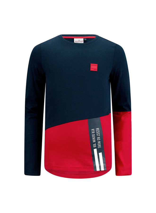 T-Shirt Easton -Red
