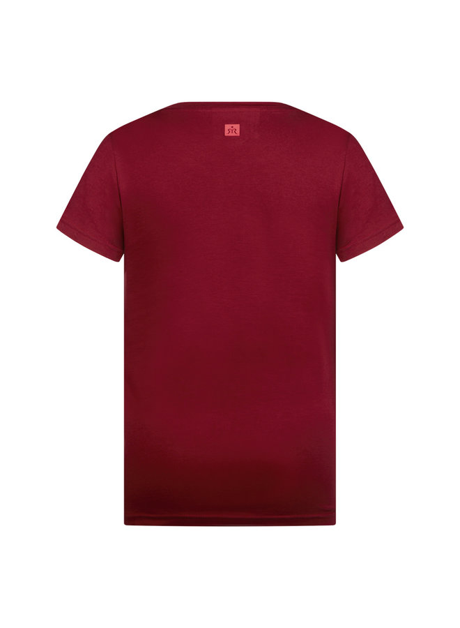 T-Shirt Sean - Bloodstone Red