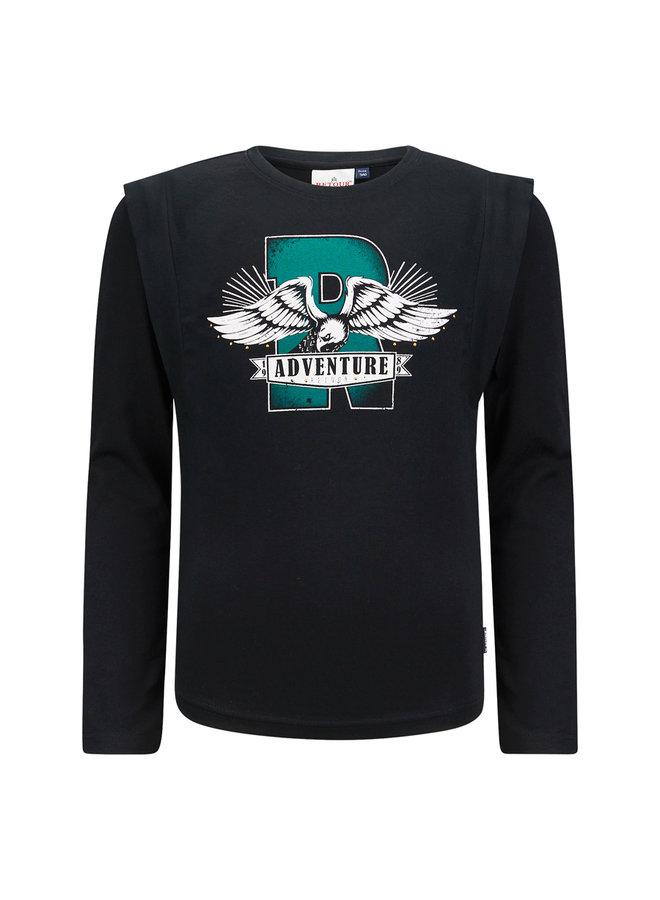 T-Shirt Amanda - Black