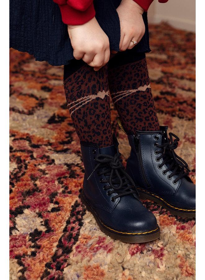 LOOXS Little Knee Socks - Cacao