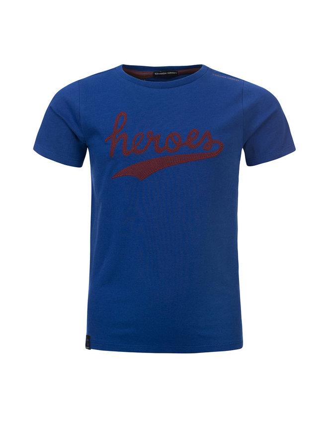 TOBIAS T-shirt - Galaxy Blue