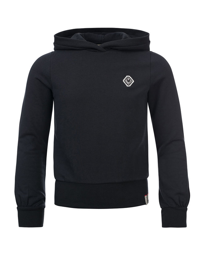 10Sixteen hooded Sweater - Off Black
