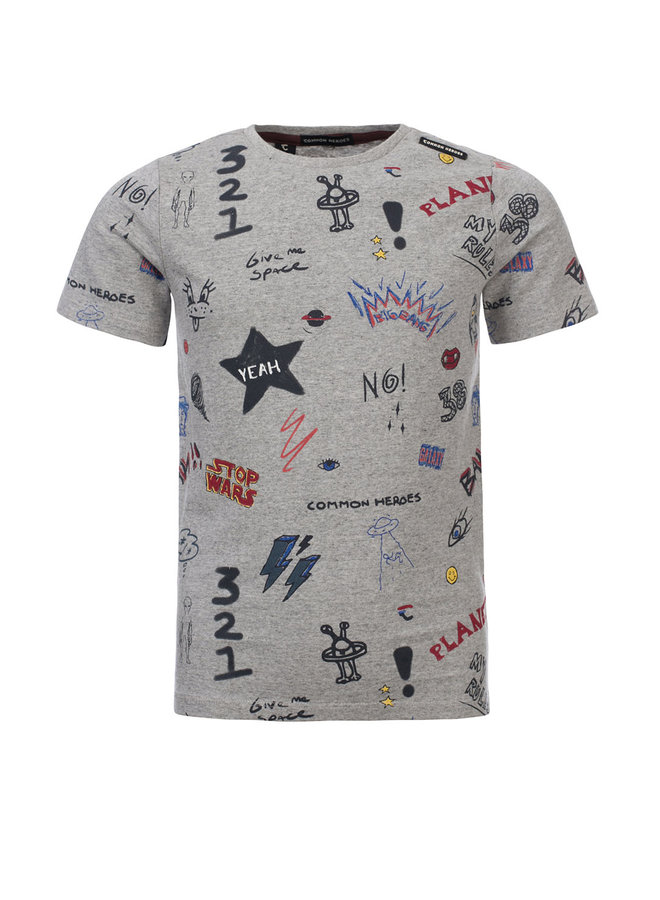 TIM Printed T-shirt - Doodle