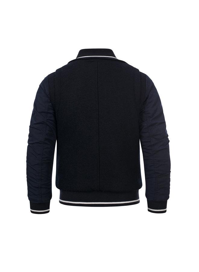 10Sixteen wool bomber jacket - Midnight