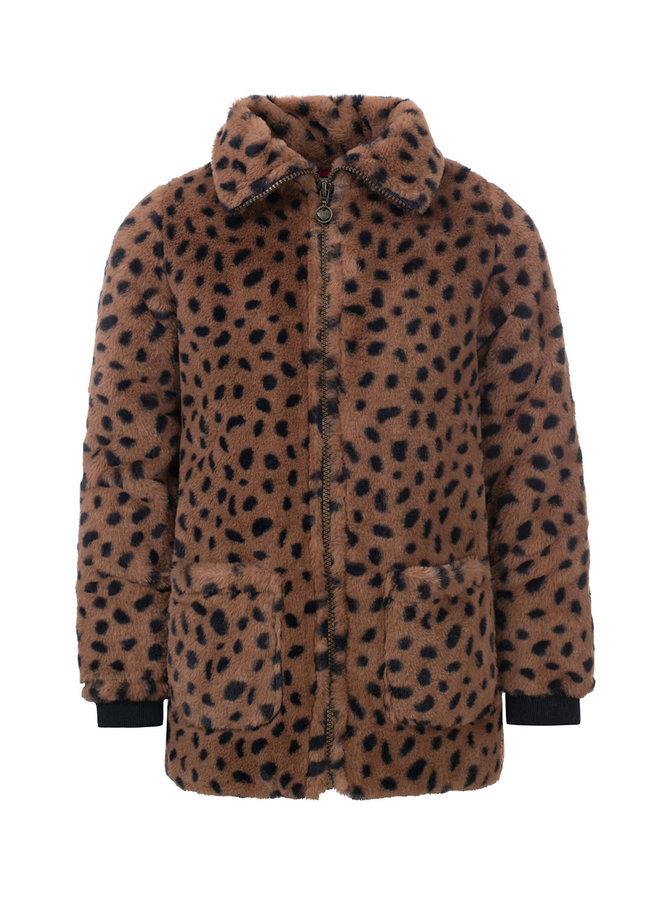 Little jacket cheeta fur - Cheeta