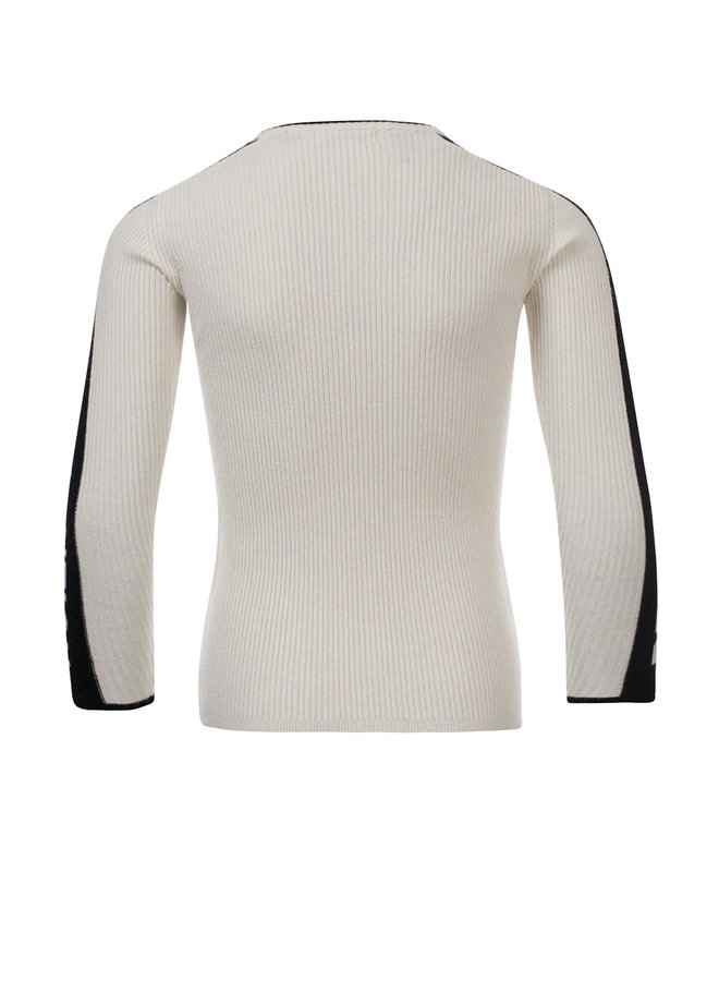 10Sixteen knited pullover - Creamy
