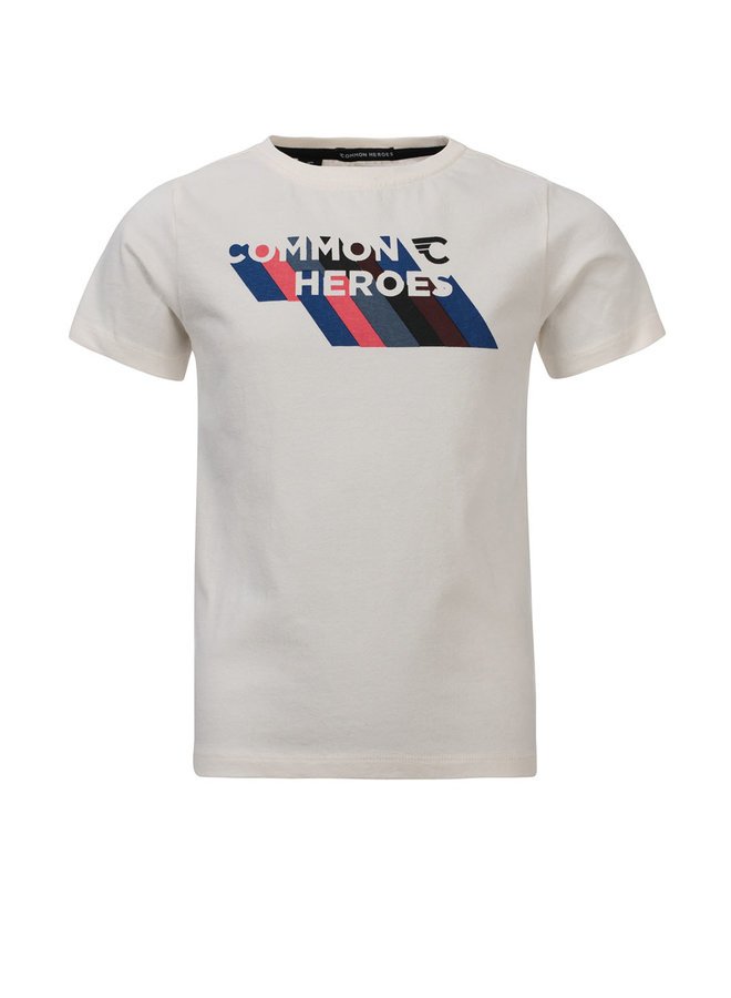 TIM T-shirt - Ecru