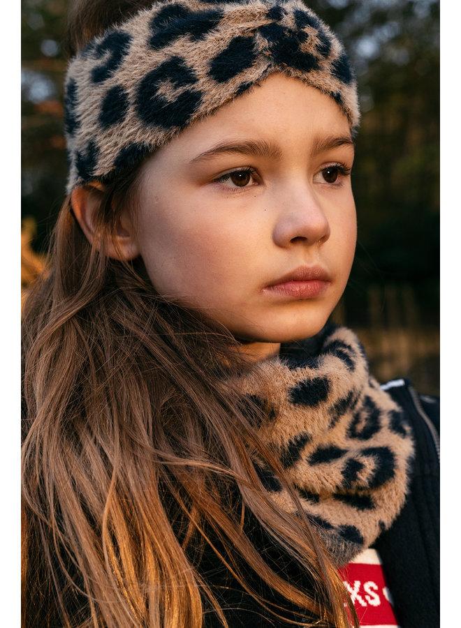 10Sixteen knited knitted tube scarf - Big Jaguar