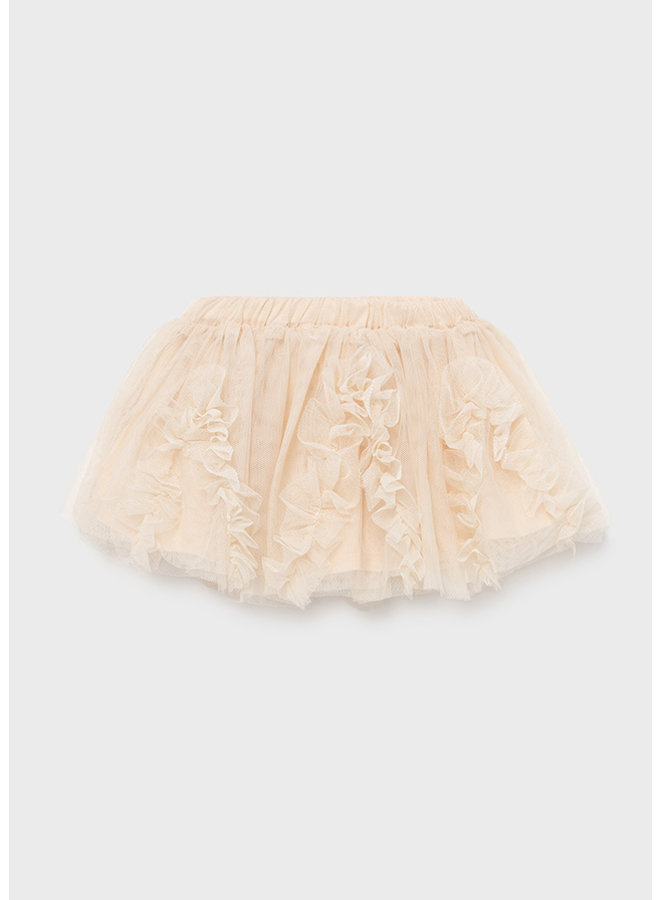 Mayoral Tulle skirt Champagne