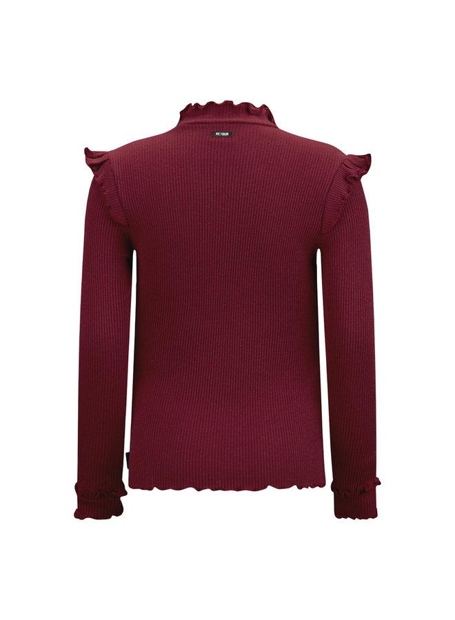 T-Shirt Karline - Wine Red
