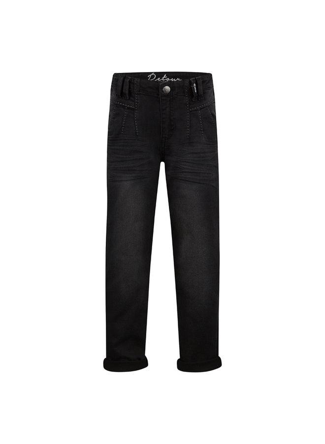 Jeans Ivory - Black Denim