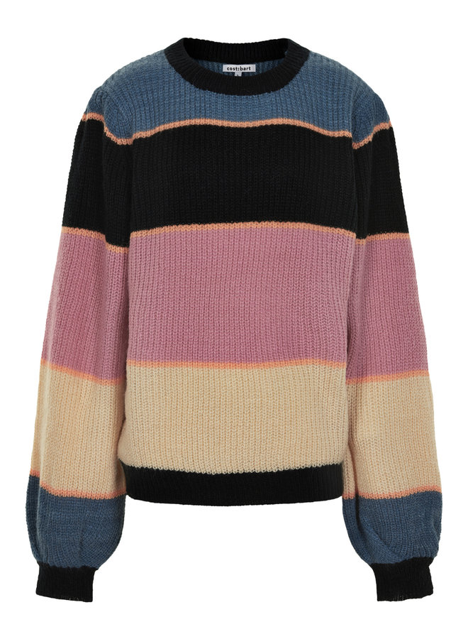 CBOPEARL LS PULLOVER-China Blue