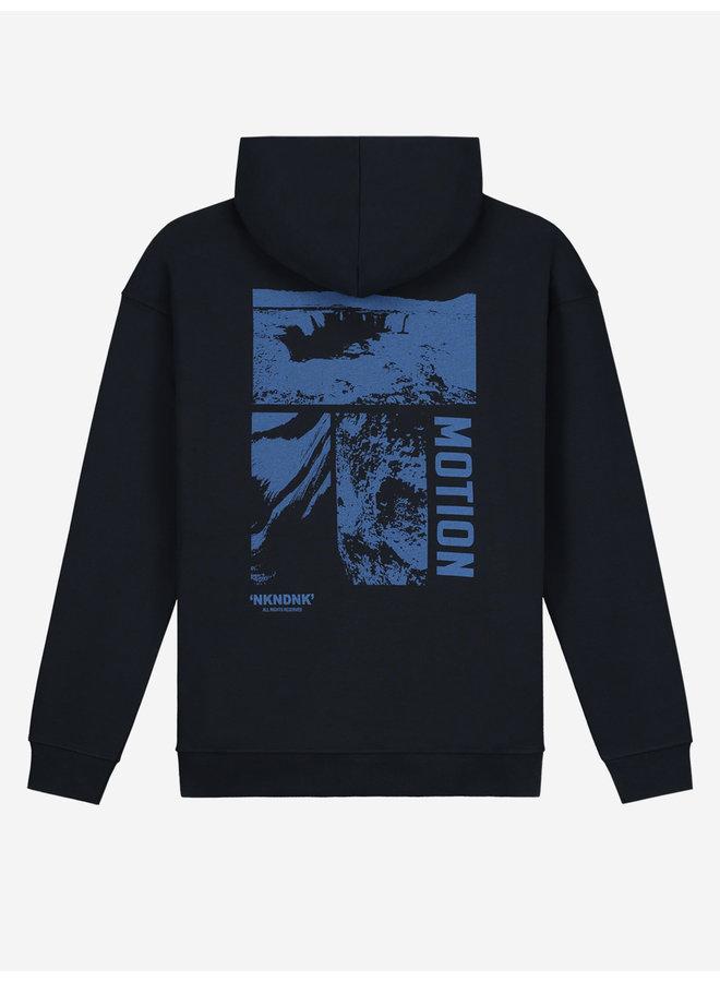 Motion Hoodie - Faded Dark Blue