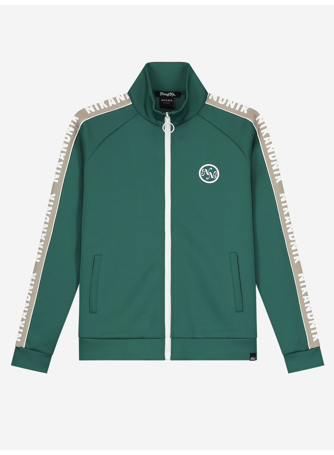 Vanya Trackjacket - Pine Green