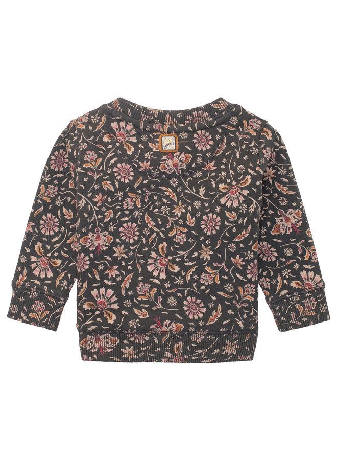 G Sweater LS Shelburne AOP* - Phantom