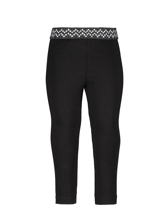 Flo baby girls jersey legging - Black