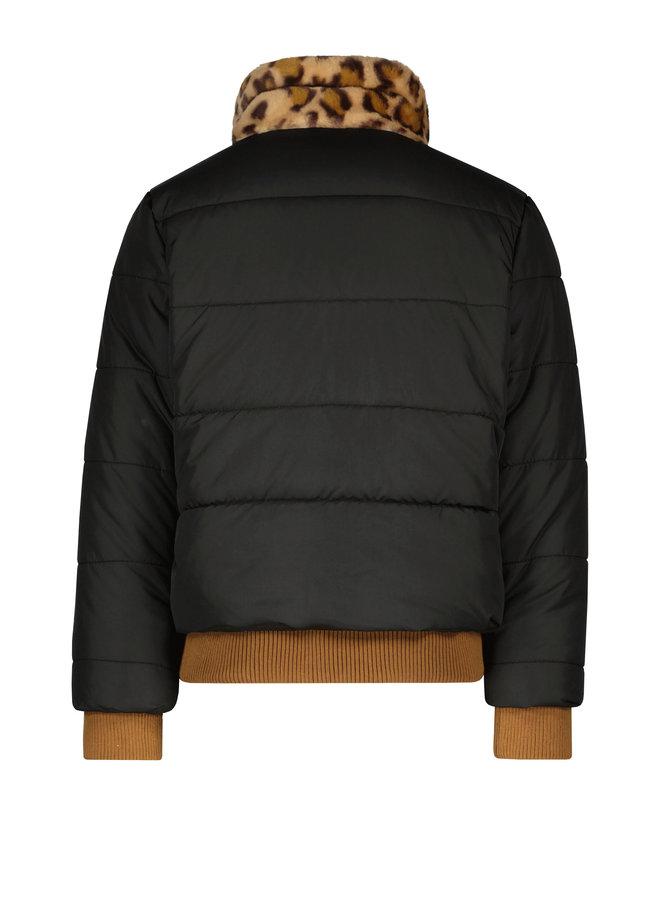 Flo girls fancy fur jacket - Antra