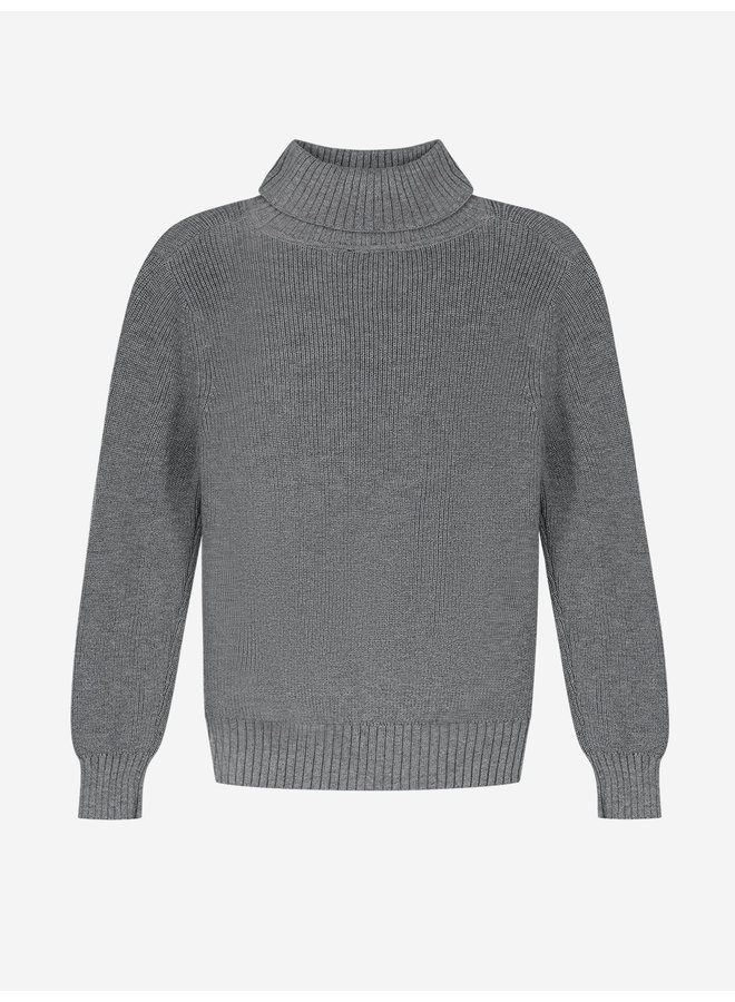 Hos Pullover - Medium Grey Melange