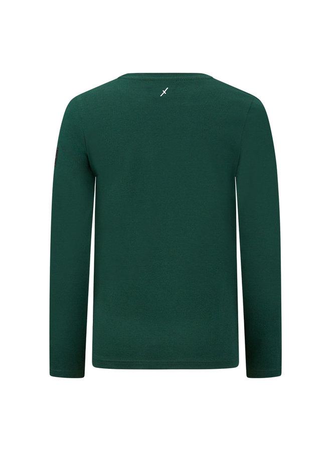 T-shirt Slide - Dark Green