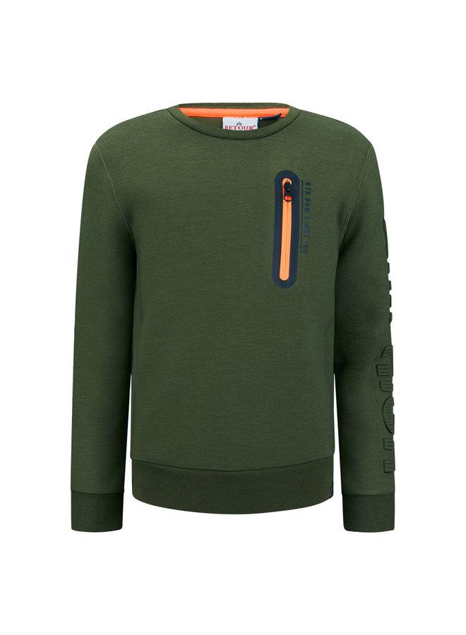 Sweater Sef - Deep Olive