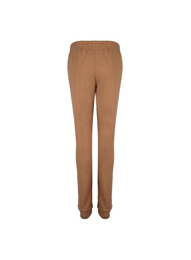 SWEAT PANTS - Camel