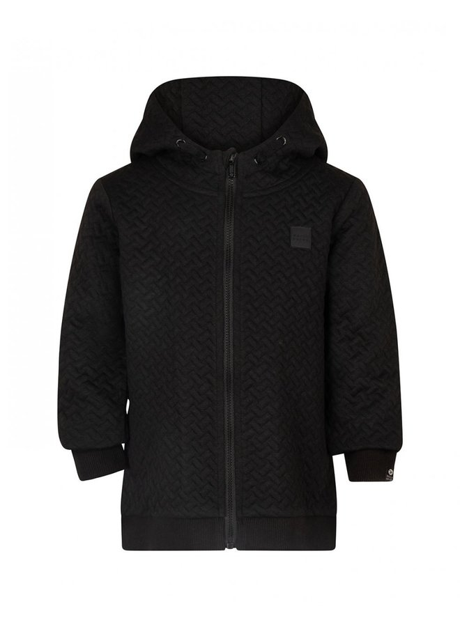 HOODED ZIP QUILTED