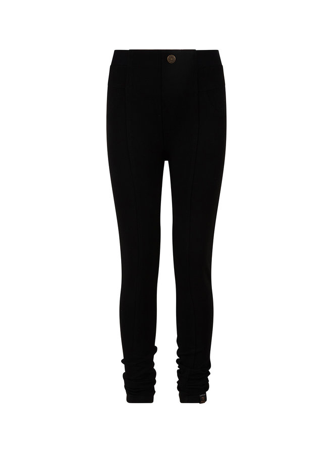 BASIC LEGGING PANTS - Black