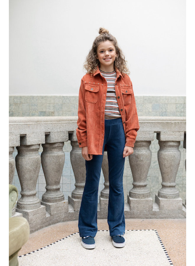 10Sixteen oversized Blouse - Terracotta