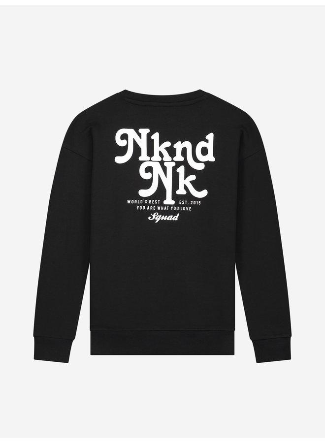 Nkndnk Sweater - Black